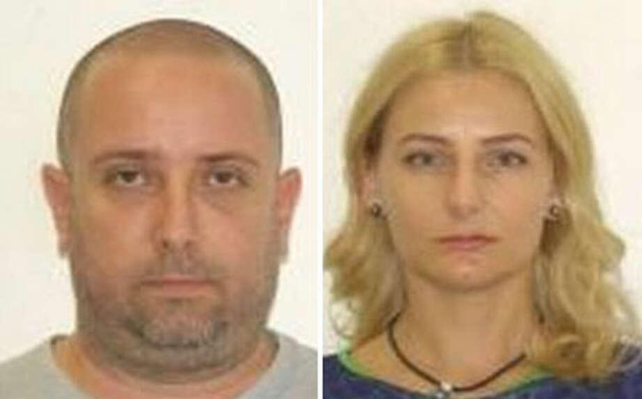 Radu and Diana Nemes, a Yelm couple accused in a multi-million tax dodge in Romania.