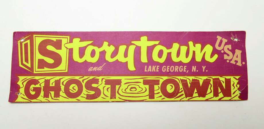 Sign from Story Town U.S.A and Ghost Town in Lake George, N.Y. (Will Waldron/Times Union)