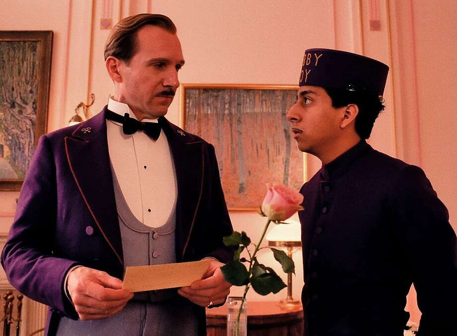 "Monsieur Gustave (Ralph Fiennes, left) and Zero (Tony Revolori) in ""The Grand Budapest Hotel."" Photo: Fox Searchlight Pictures, McClatchy-Tribune News Service"