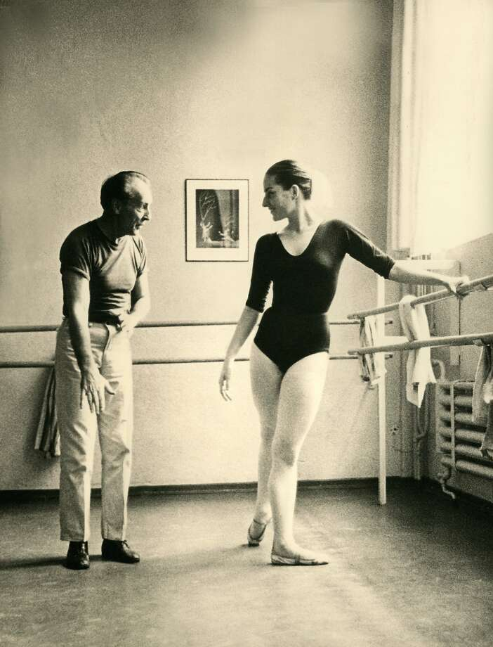 George Balanchine and Tanaquil Le Clercq worked together and eventually married. Photo: Kino Lorber