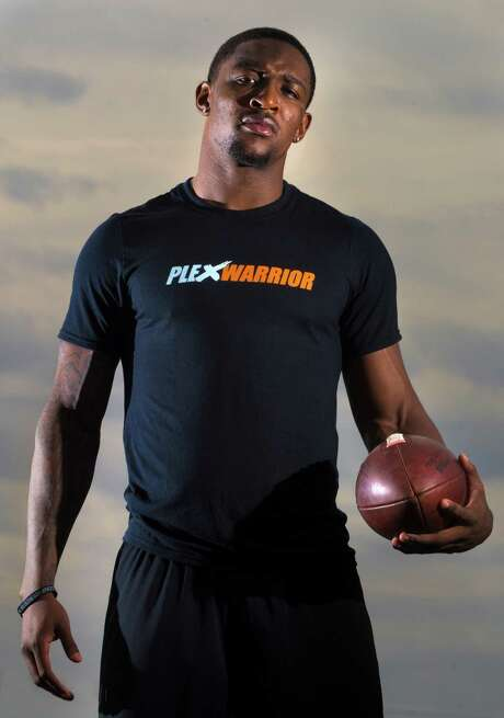 Demetri Goodson poses for a portrait on Thursday, Jan. 23, 2014, in Stafford. He played at Klein Collins and Baylor, and is prepping for the NFL draft. ( J. Patric Schneider / For the Chronicle ) Photo: J. Patric Schneider, Freelance / © 2014 Houston Chronicle