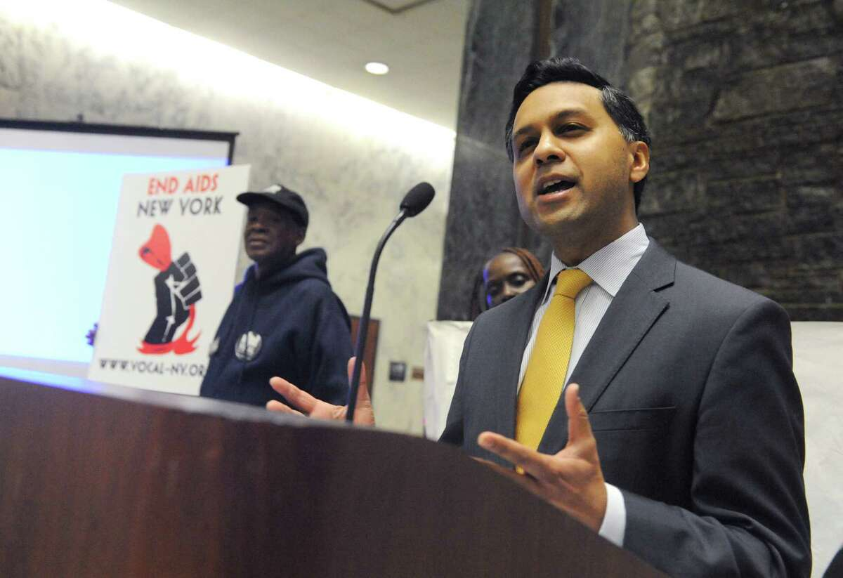 Former Health Commissioner Nirav Shah never disclosed any income from his role as president of HRI. (Michael P. Farrell/Times Union)
