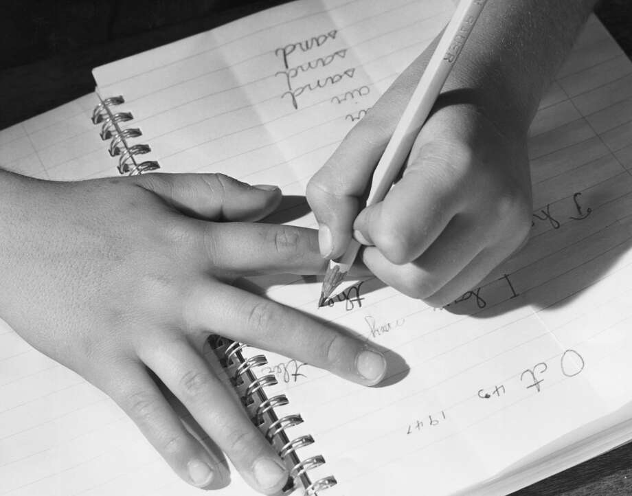 Write cursive. Penmanship is no longer emphasized in elementary schools. Why bother? Most kids are typing on their computers by third or fourth grade. Photo: SuperStock, Inc., Www.jupiterimages.com