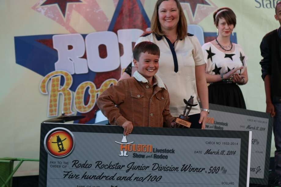 Junior division winner Jon Wesley Hopkins. Photo: Houston Livestock Show And Rodeo