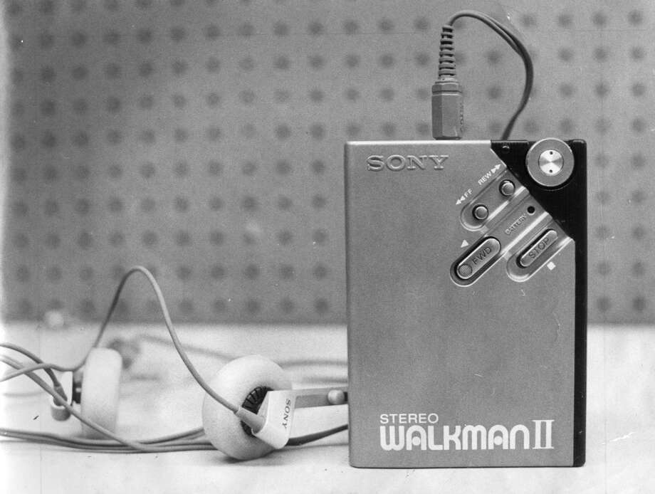 The Sony Walkman II in 1981 brought the price of the Walkman down for the regular consumer. Photo: Chronicle File