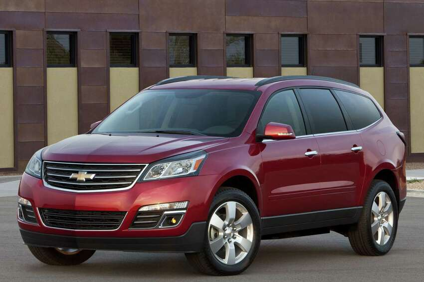 2014 Chevrolet Traverse MSRP: Starting at $30,795 Source: Kelley Blue Book