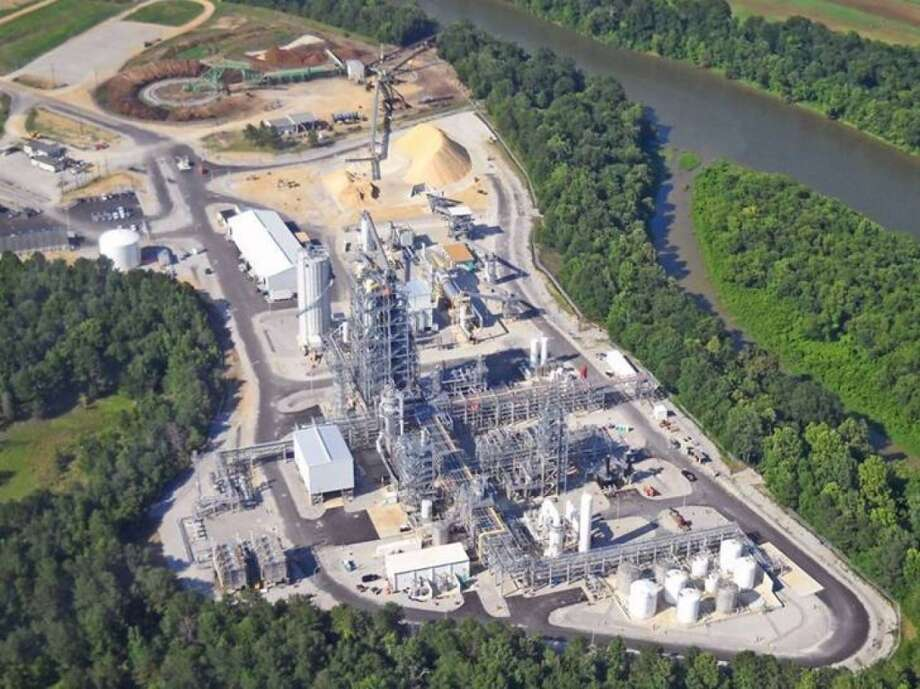 KiOR's facility in Columbus, Miss. shut down this year after beginning commercial production of cellulosic diesel from biomass. Photo: KiOR