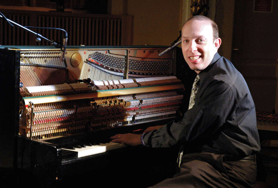 """Ben Model, a New York City-based film historian and silent film composer and accompanist, will be at the Palace Theatre in Stamford, Conn., on March 30, 2014, for two """"Silent Slapstick"""" showings. For more information, call 203-325-4466 or visit www.scalive.org. Photo: Contributed Photo / Stamford Advocate Contributed"""