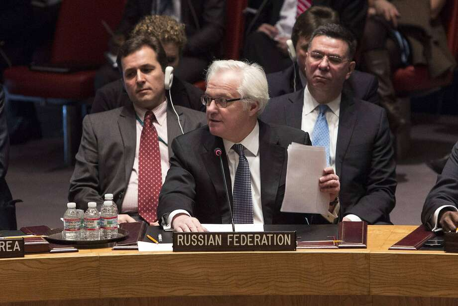 It is time to reconsider Russia's seat on the U.N. Security Council, which provides veto power and puts it above the reach of international pressure. Photo: Andrew Kelly, Reuters
