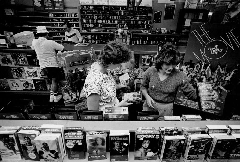 Rent a VHS tape at your local video store. Photo: Lyn Alweis, Lyn Alweis / Getty Images