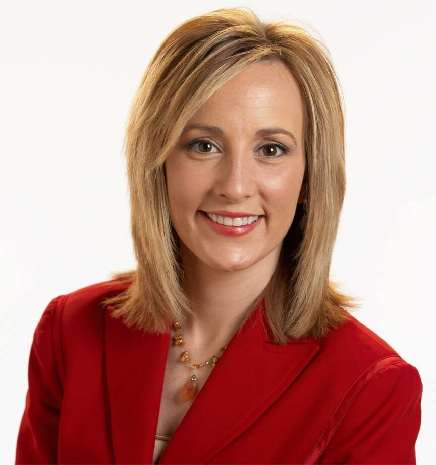 Jennifer Broome, when she anchored weather on WOAI-TV Photo: WOAI