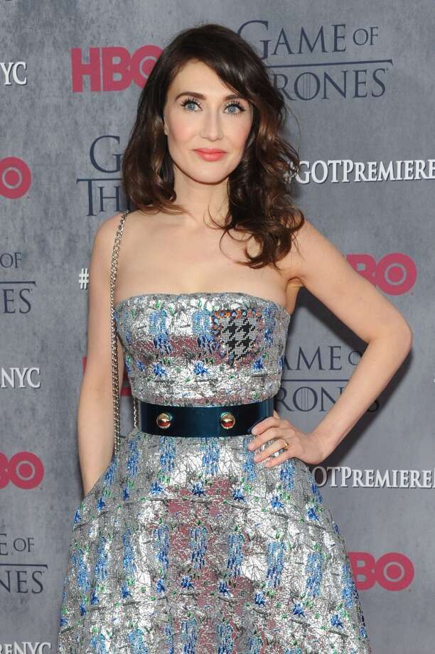 "Actress Carice van Houten attends the ""Game Of Thrones"" Season 4 New York premiere at Avery Fisher Hall, Lincoln Center on March 18, 2014 in New York City. Photo: Jamie McCarthy, Getty Images"