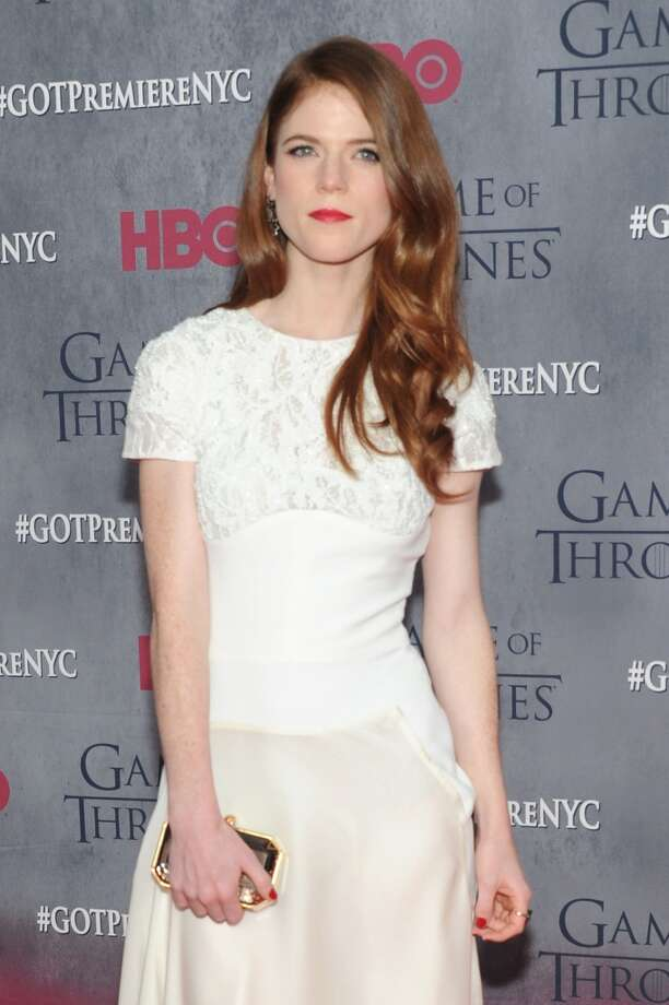 "Actress Rose Leslie attends the ""Game Of Thrones"" Season 4 New York premiere at Avery Fisher Hall, Lincoln Center on March 18, 2014 in New York City. Photo: Jamie McCarthy, Getty Images"
