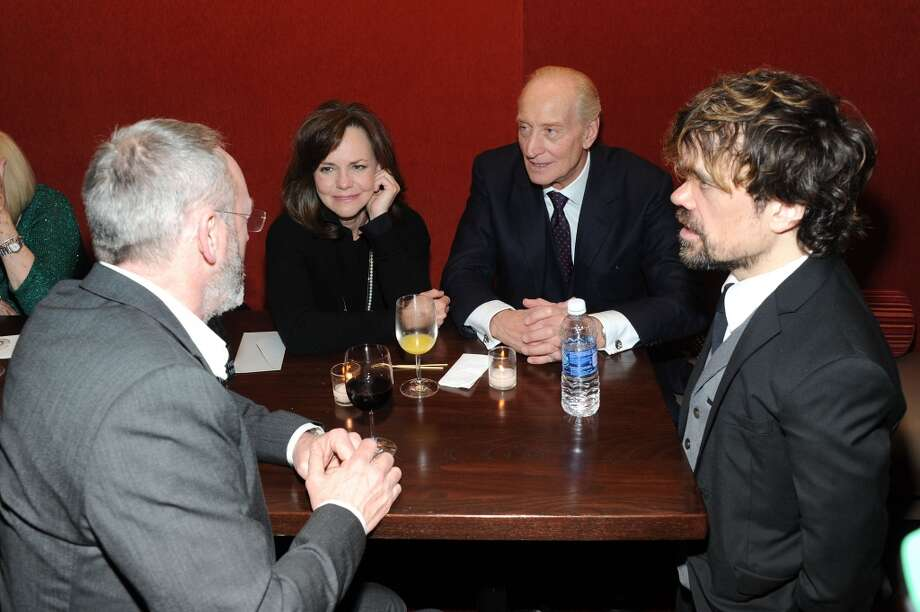"(L-R) Liam Cunningham, Sally Field, Charles Dance and Peter Dinklage attend the ""Game Of Thrones"" Season 4 New York premiere at Avery Fisher Hall, Lincoln Center on March 18, 2014 in New York City. Photo: Jamie McCarthy, Getty Images"