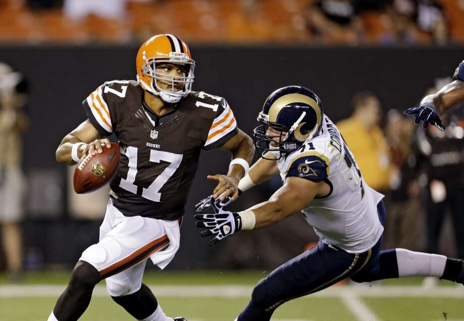 Jason Campbell  Position: QB  Status: Signed with Cincinnati Bengals Photo: Tony Dejak, Associated Press