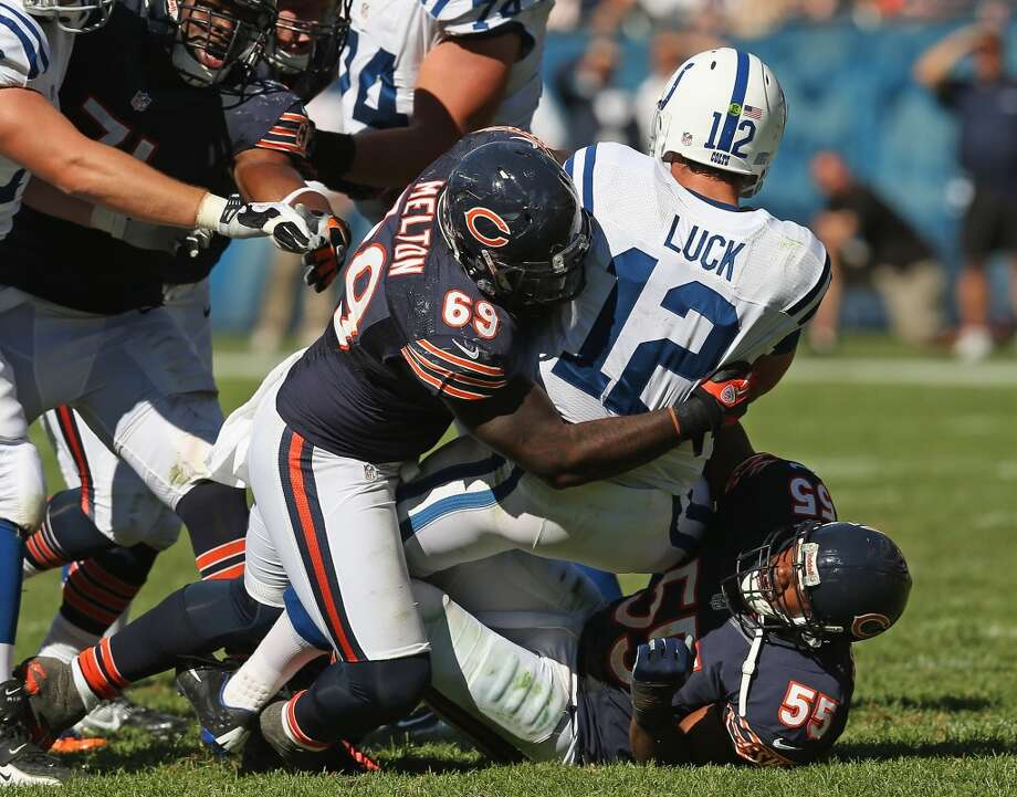 Henry Melton  Position: DT  Status: Signed with Dallas Cowboys Photo: Jonathan Daniel, Getty Images