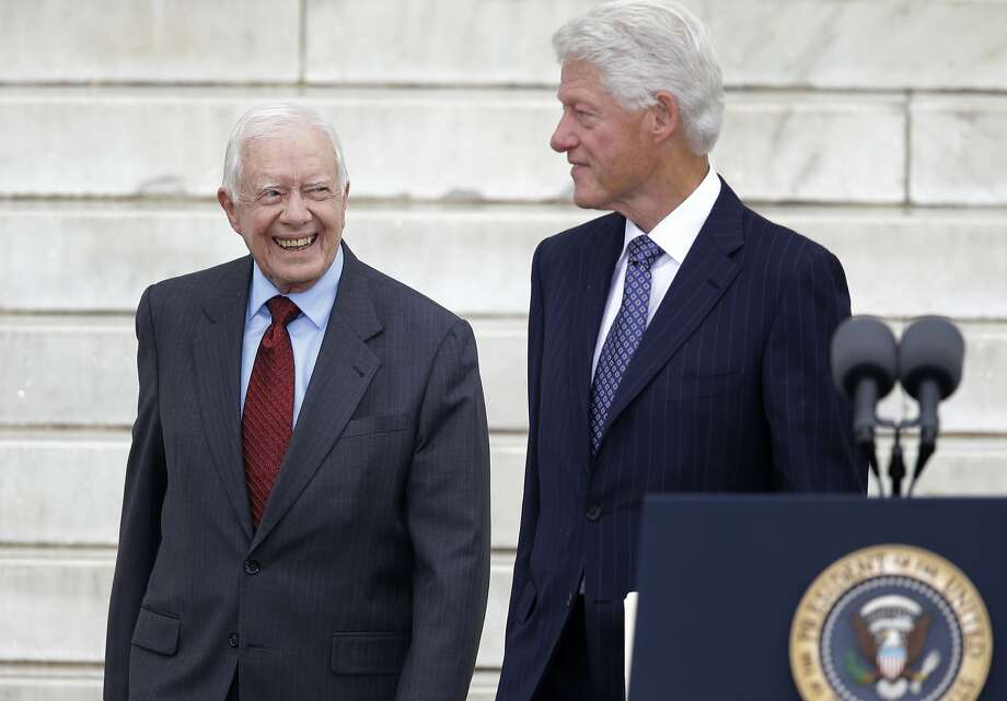 Jimmy Carter Photo: Carolyn Kaster, Associated Press