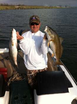 Trout and redfish in Sabine. (Aaron Tolleson)
