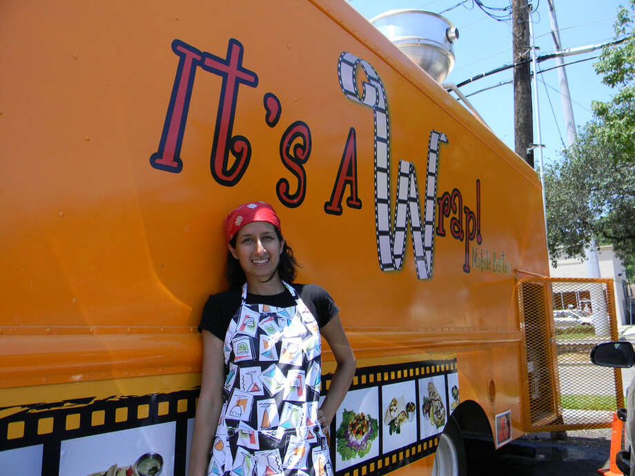 Guli Essa is the brain behind It's A Wrap food truck. Photo: Paul Galvani / Freelance