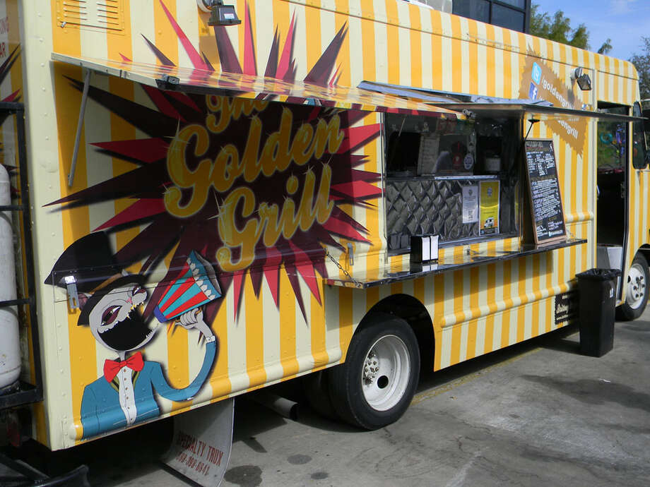 The Golden Grill food truck is owned by Matt Pak. Photo: Paul Galvani, For The Chronicle