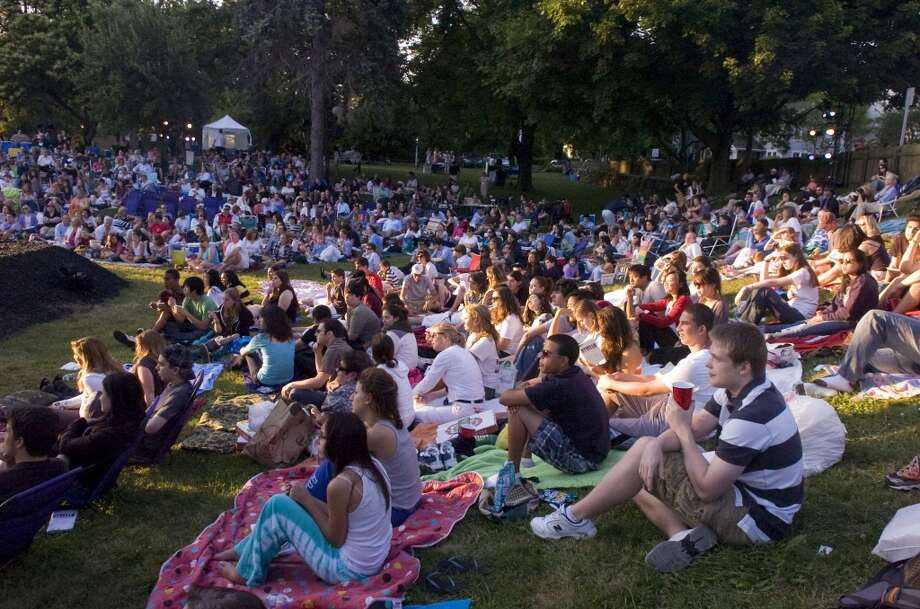 Every Sunday night at 5:30, you can catch a free concert at Rowayton's Pinkney Park or Bayley Beach in Norwalk. Check the lineup from the Rowayton Civic Association. Photo: Keelin Daly, ST