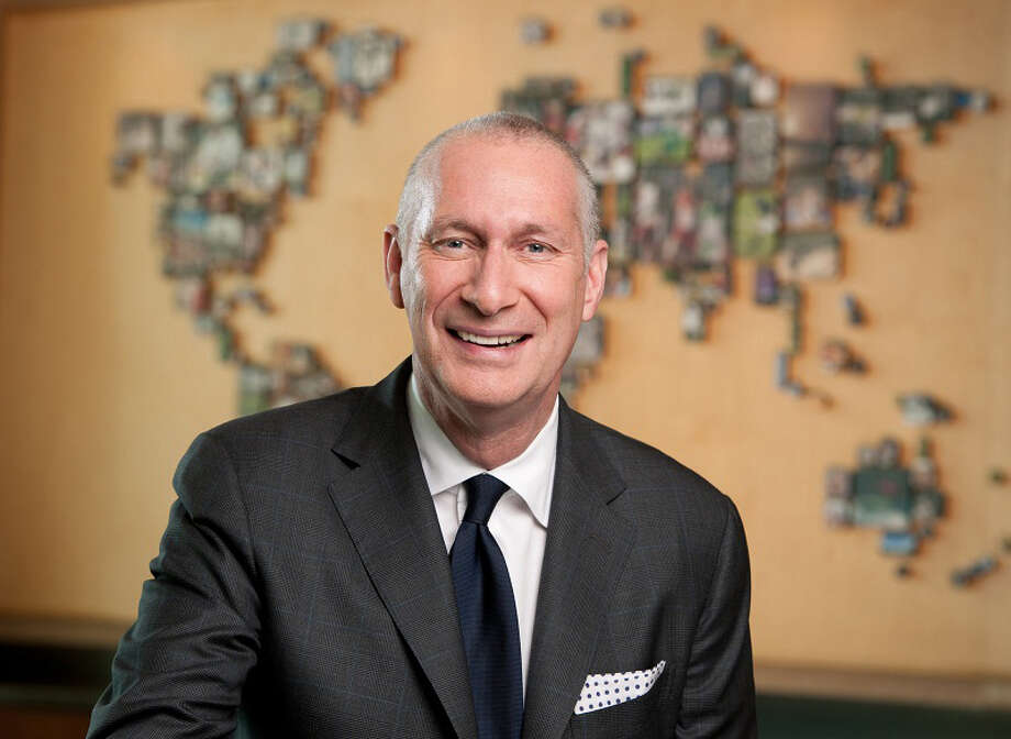 John Skipper is president of ESPN and co-chairman of Disney Media. The son of a postal carrier in North Carolina, he got a master's in English literature at Columbia in the late '70s and then entered the publishing world. Now a Wilton resident and father of two, he spoke to us about his career and leadership principles from his large, utterly spotless office recently -- beside a giant painting of NBA stars that hangs on his wall. Photo: Joe Faraoni/ESPN, Contributed Photo / Connecticut Post Contributed