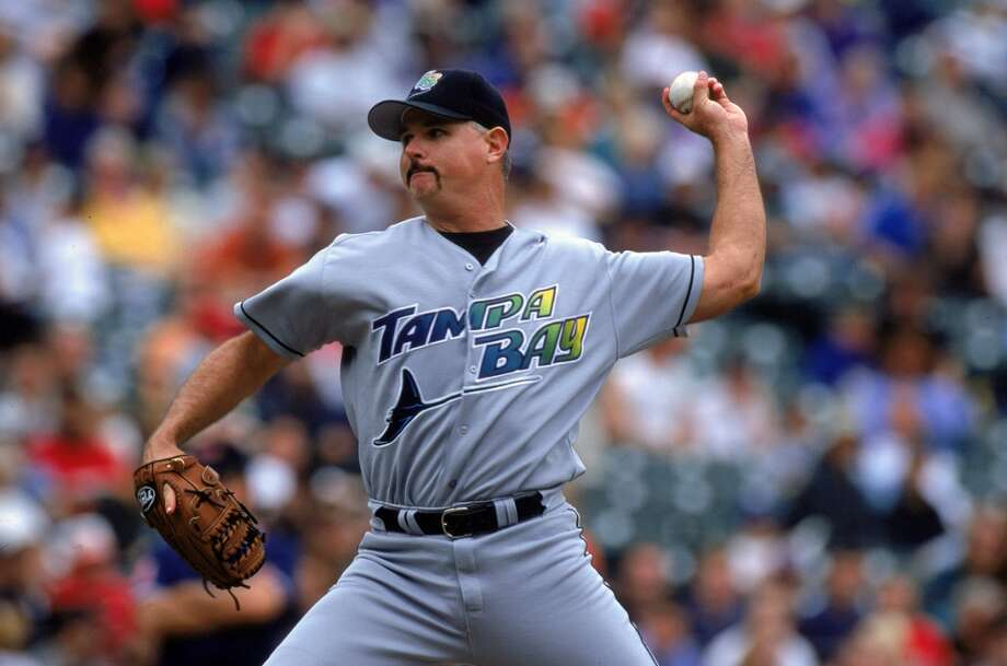 "Angelo State University: 0.4 | Famous Alumni: Jim Morris, MLB player and ""The Rookie"" inspiration (pictured); Chris Brazzell, NFL player; Pierce Holt, NFL player. Photo: Doug Pensinger, Getty Images"