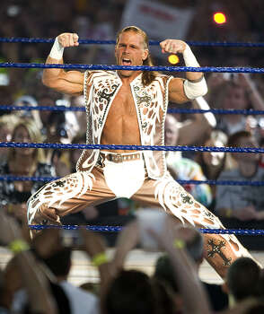 WWE Hall of Famer Shawn Michaels was always billed out of San Antonio where he grew up, but he was born in Chandler, Ariz. Photo: Bob Levey, WireImage / WireImage