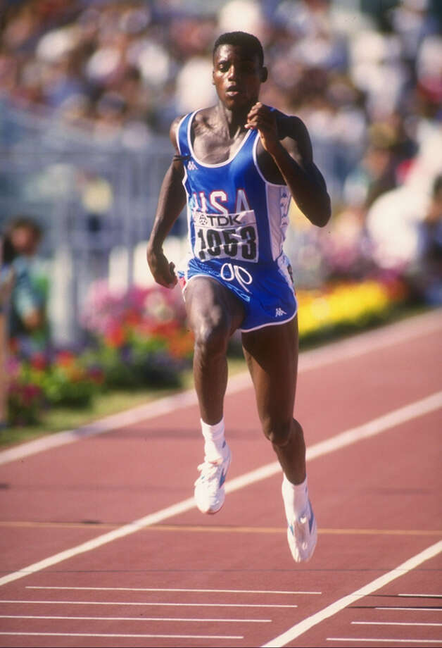 University of Houston: 71.1 | Famous Alumni: Carl Lewis, Olympic athlete (pictured); Tom DeLay, politician; Hakeem Olajuwon, NBA player; Nick Faldo, PGA player; Elizabeth Warren, politician Photo: Gray Mortimore, Getty Images / Getty Images North America