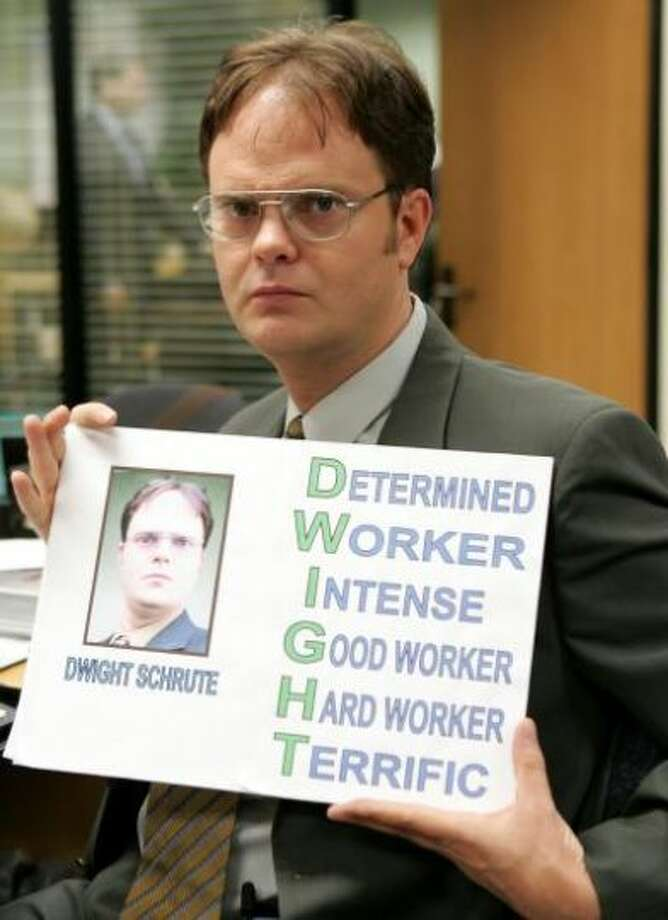 "12. Jim paid each of his coworkers $5 to call Dwight ""Dwayne"" for the day. It's the little victories in life."