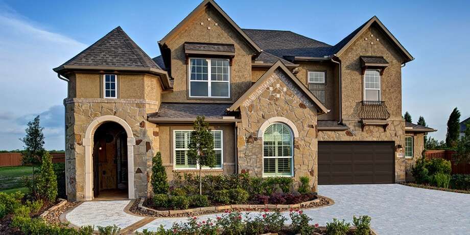 In Frendswood Development Co.'s Falls at Green Meadows, Meritage Homes (shown) has open models.