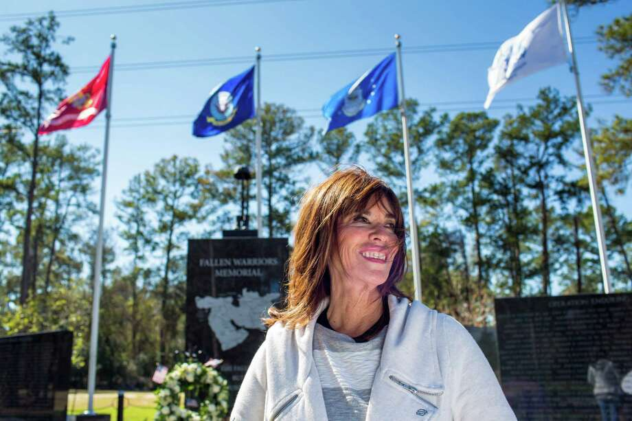 Cheryl Whitfield founded the National Memorial Ladies, a nonprofit organization created to ensure that veterans won't be buried alone at the Houston National Cemetery. Photo: Eric Kayne / Eric Kayne