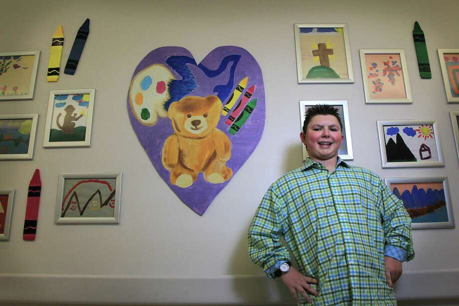 """When I get out of here, I want to come back and make the sick kids happy,"" Ryan Vigeant, now 13, told his parents in the hospital when he was about 6. Photo: Mayra Beltran, Staff / © 2014 Houston Chronicle"