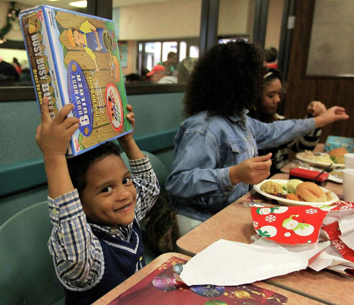 Each year, the Salvation Army Greater Houston Area Command serves Christmas Day meals to hundreds of men, women and children.