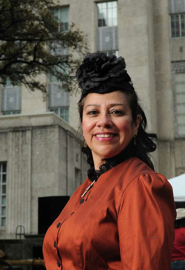 Linda Alonzo Saenz serves on the Ladies' Go Texan Committee, the Go Tejano Committee and in the History Live program, part of the Speakers Committee, for the Houston Livestock Show and Rodeo. Photo: Dave Rossman, Freelance / Freelance