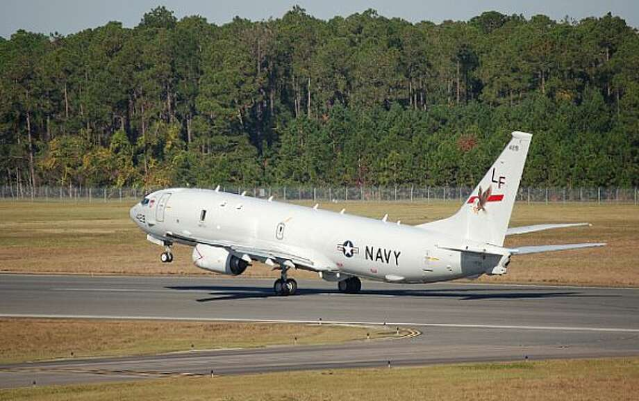 A U.S. Navy P-8A Poseidon takes off from NAS Jacksonville, Fla. Photo: U.S. Navy