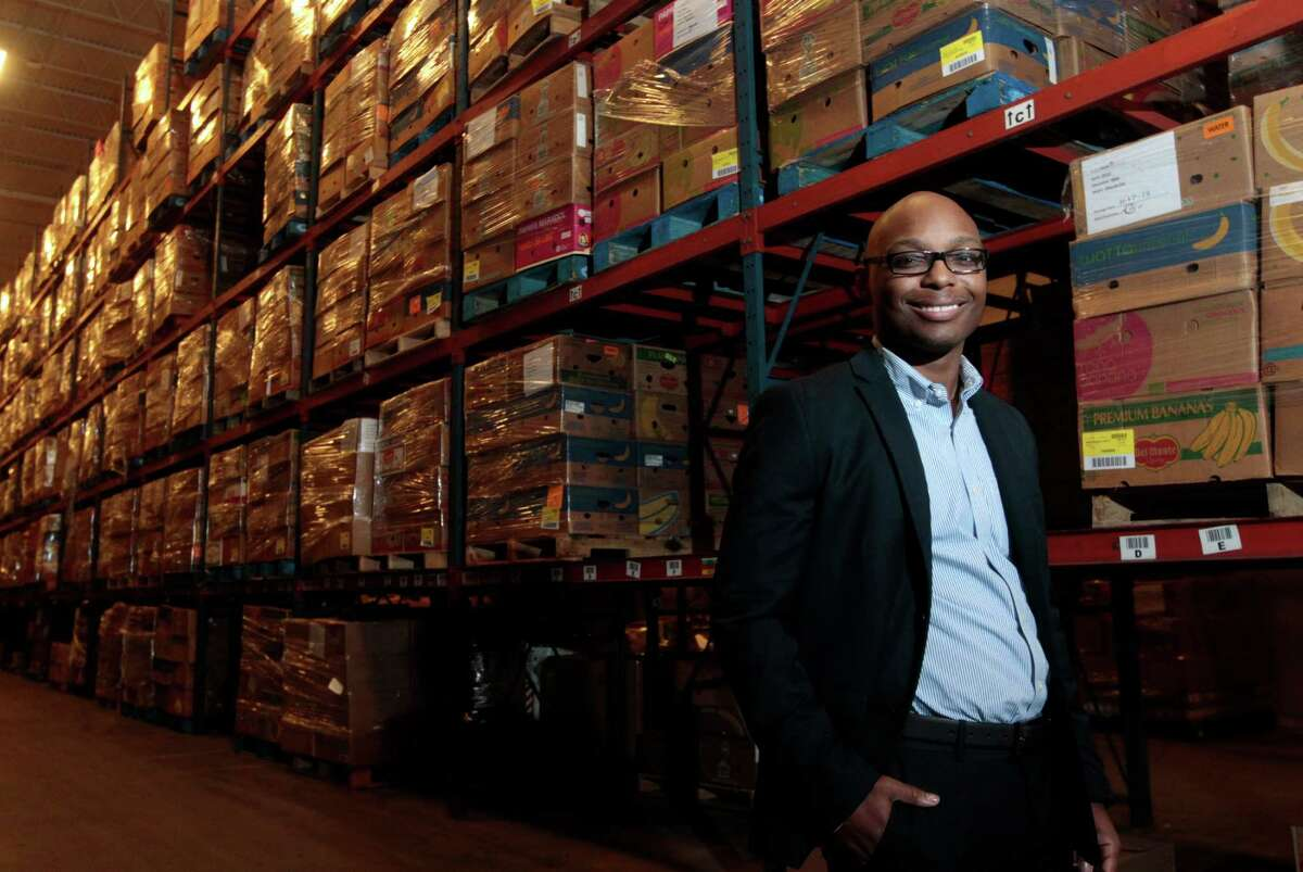 Reginald Young, Houston Food Bank agency services representative, is developing a training program to help partner agencies assess a spectrum of client needs.