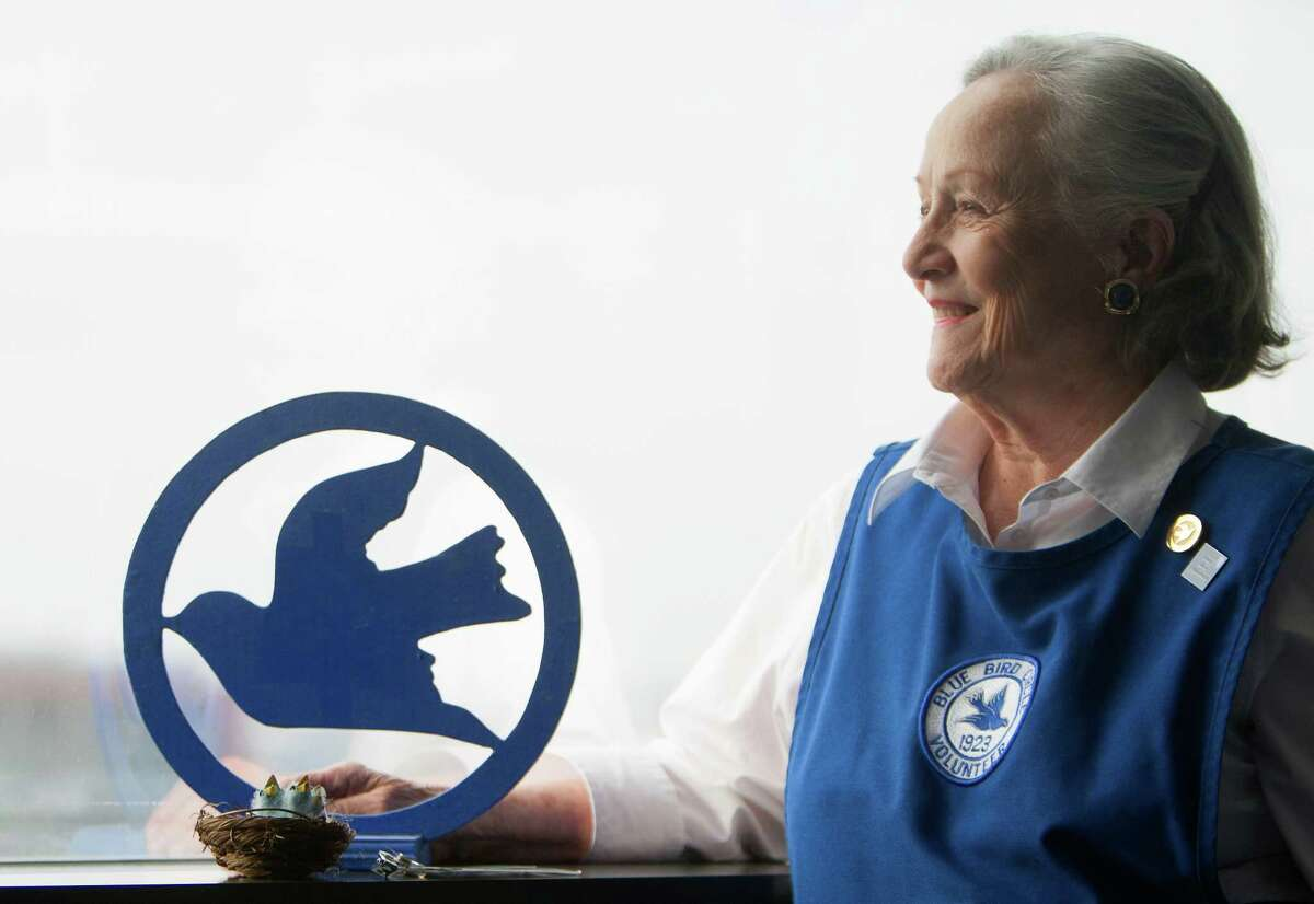 Blue Bird Circle volunteer Nancy Abraham has been involved in the organization for 47 years.
