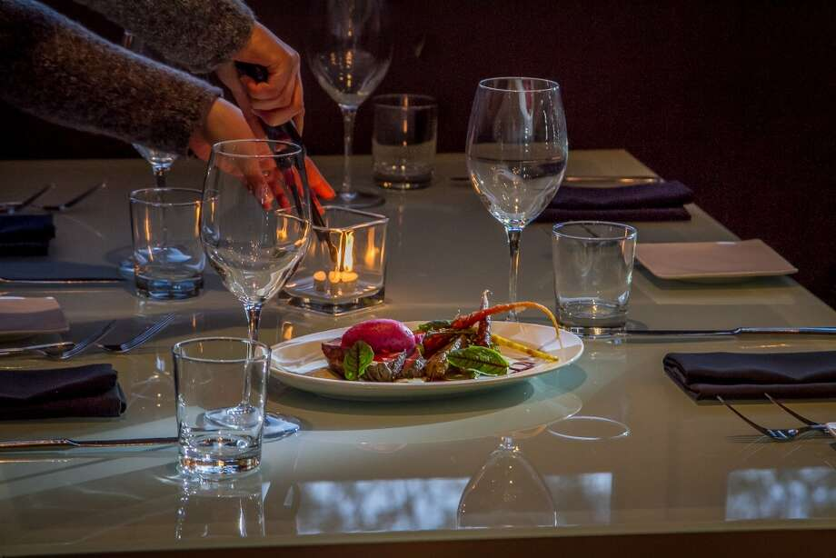 The table settings. Photo: John Storey, Special To The Chronicle