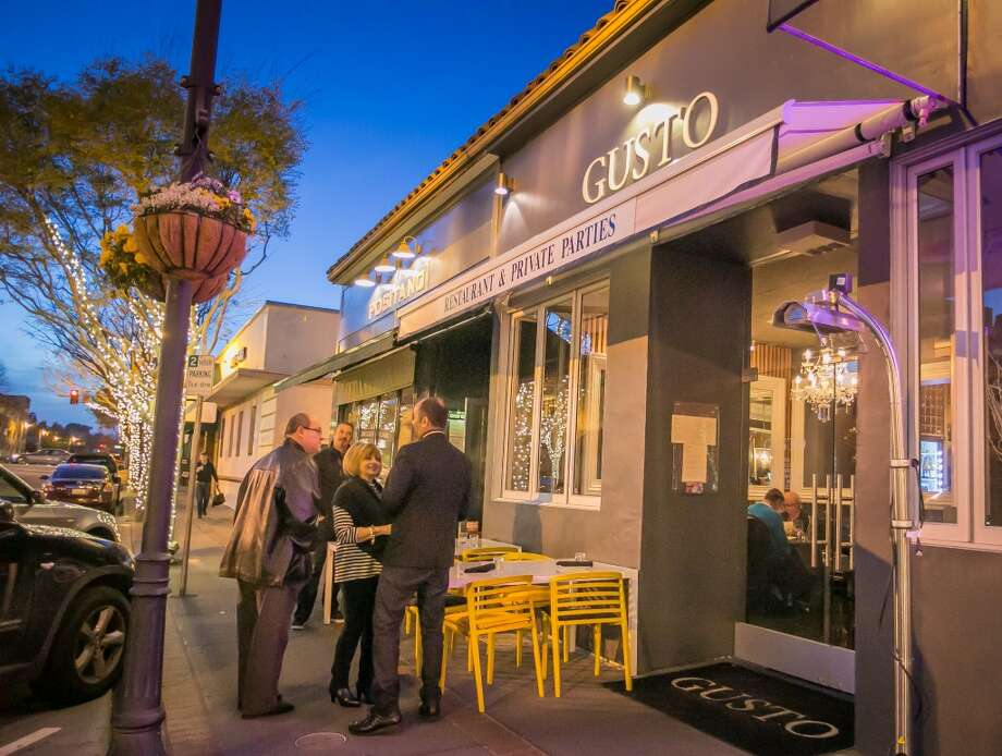 The exterior of Gusto in San Carlos. Photo: John Storey, Special To The Chronicle