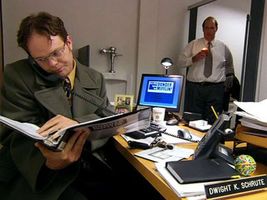 4. And why not put his desk in the bathroom while you're at it, Jim?
