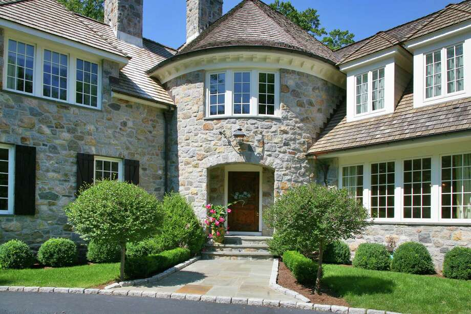 The house at 3 Deepwood Lane is on the market for $4,950,000. Photo: Contributed Photo / Westport News