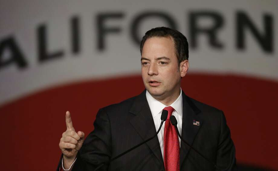 GOP Chairman Reince Priebus recently declared victory on the party's national electability, but pay equity is a sore topic. Photo: Ben Margot, Associated Press