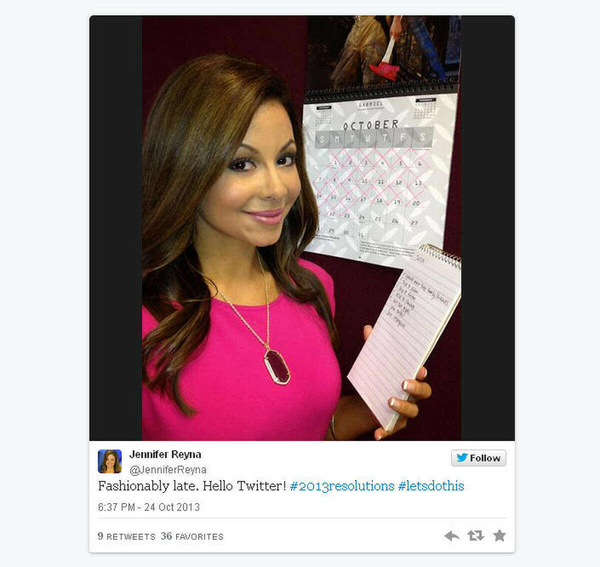 The first tweets of Houston's Twitterati: How did Twitter survive seven years without Ms. Reyna?