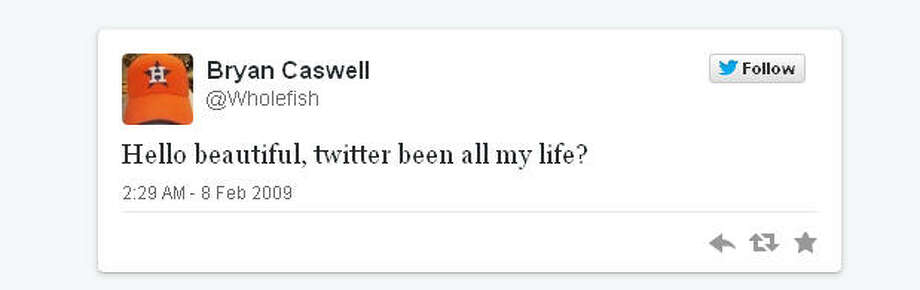 Chef Bryan Caswell took to Twitter sweetly and gently.