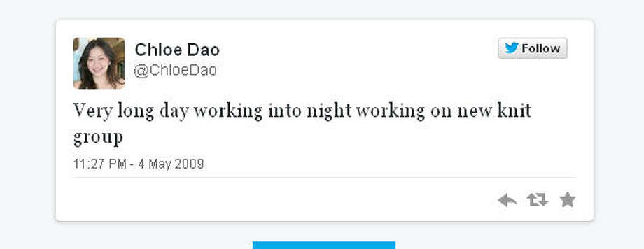 Houston designer Dao was all business when she joined the Twitter cult.