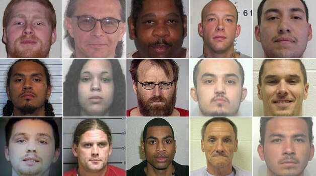 The Department of Corrections is currently looking for dozens of violent felons and sex offenders who've violated their parole. Click through for a look at them. Photo: Department Of Corrections