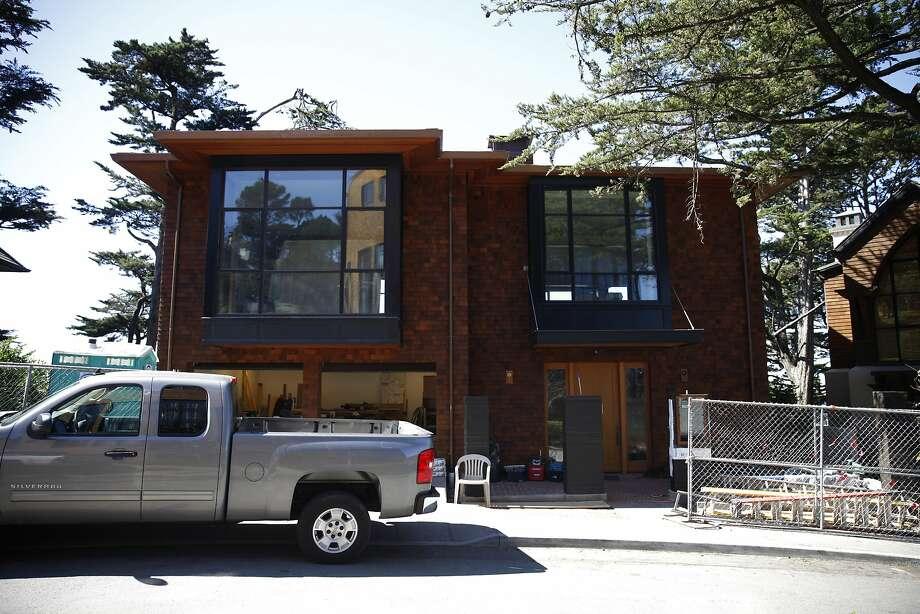 40 Edgehill Way is seen on Tuesday, March 18, 2014,  in San Francisco, Calif. Photo: Lea Suzuki, The Chronicle