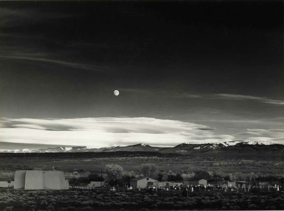 Moonrise by Ansel Adams (The Hyde Collection)