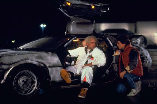 """""""Back to the Future"""" centers around a plutonium-powered DeLorean that can time travel."""